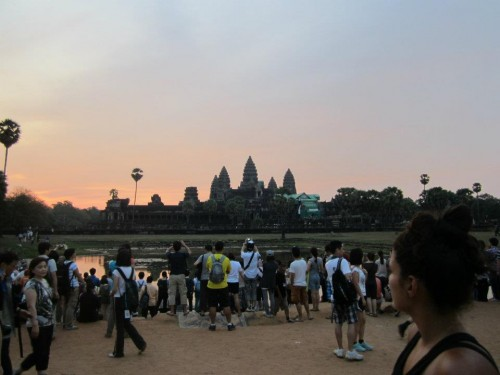 Angkor Wat nähe Seam Reap in Kambodscha