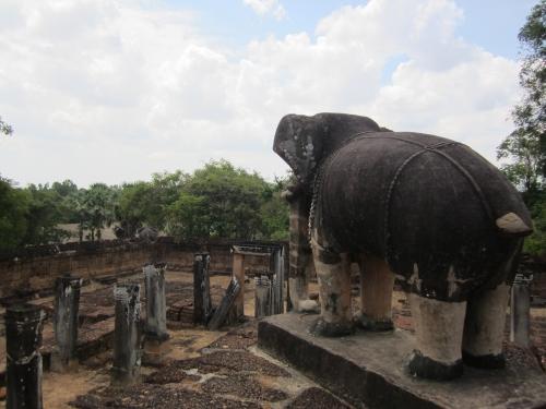 Elefanten in East Mebon